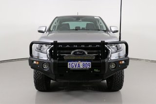 2019 Ford Ranger PX MkIII MY19 XLT 2.0 (4x4) Grey 10 Speed Automatic Double Cab Pick Up.