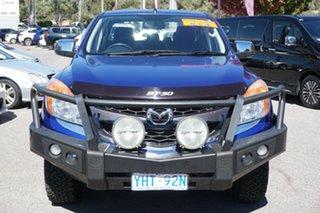 2012 Mazda BT-50 UP0YF1 XTR Blue 6 Speed Sports Automatic Utility.