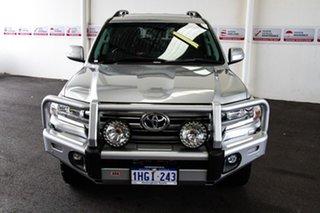 2018 Toyota Landcruiser VDJ200R MY16 VX (4x4) Silver Pearl 6 Speed Automatic Wagon.
