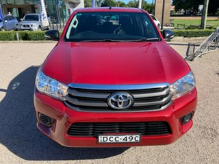 2015 Toyota Hilux GUN136R SR5 Double Cab 4x2 Hi-Rider Olympia Red 6 Speed Manual Utility