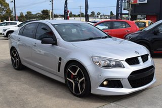 2014 Holden Special Vehicles ClubSport Gen-F MY14 R8 Silver 6 Speed Sports Automatic Sedan.