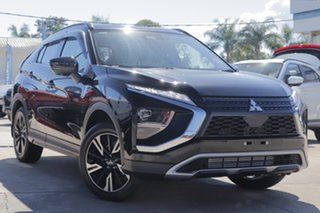 2021 Mitsubishi Eclipse Cross YB MY21 Aspire 2WD Black 8 Speed Constant Variable Wagon.