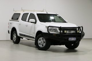 2013 Holden Colorado RG LX (4x4) White 6 Speed Automatic Crew Cab Pickup.