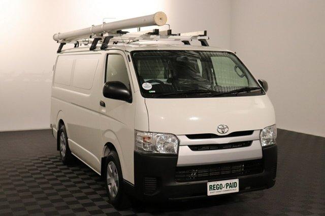 Used Toyota HiAce KDH201R LWB Acacia Ridge, 2015 Toyota HiAce KDH201R LWB French Vanilla 4 speed Automatic Van