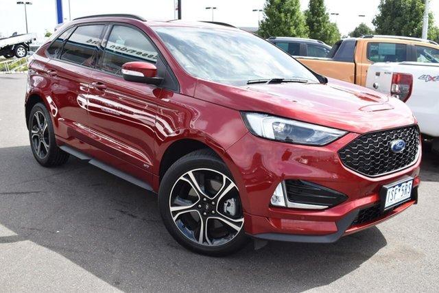 Used Ford Endura CA 2019MY ST-Line Essendon Fields, 2019 Ford Endura CA 2019MY ST-Line Red 8 Speed Sports Automatic Wagon