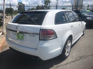2010 Holden Commodore VE MY10 SV6 White 6 Speed Automatic Sportswagon.