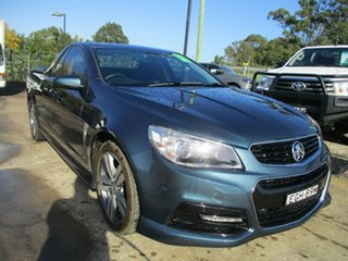 2014 Holden Ute VF MY14 SV6 Ute Blue 6 Speed Sports Automatic Utility.