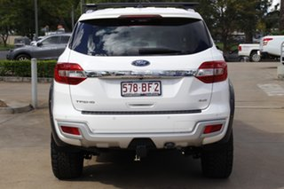 2018 Ford Everest UA II 2019.00MY Trend White 6 Speed Sports Automatic SUV