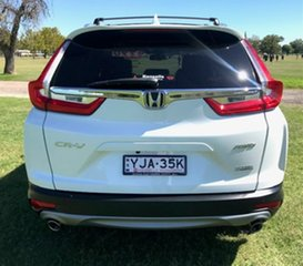 2017 Honda CR-V RW MY18 VTi-LX 4WD White 1 Speed Constant Variable Wagon