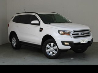 2018 Ford Everest UA MY18 Ambiente (4WD 5 Seat) White 6 Speed Automatic SUV