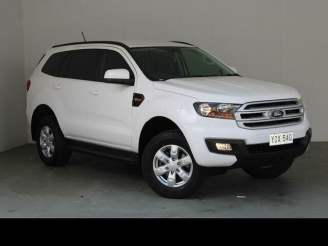 Used Ford Everest UA MY18 Ambiente (4WD 5 Seat) Fyshwick, 2018 Ford Everest UA MY18 Ambiente (4WD 5 Seat) White 6 Speed Automatic SUV