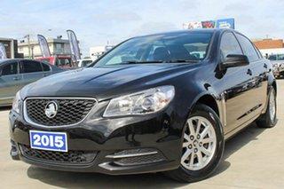 2015 Holden Commodore VF MY15 Evoke Black 6 Speed Sports Automatic Sedan.
