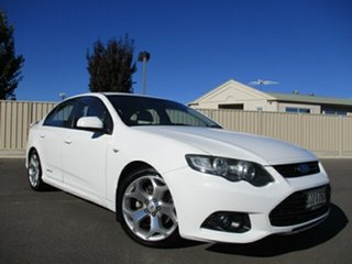 2012 Ford Falcon FG MkII XR6 White 6 Speed Sports Automatic Sedan.