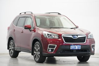 2018 Subaru Forester S5 MY19 2.5i Premium CVT AWD Crimson Red 7 Speed Constant Variable Wagon
