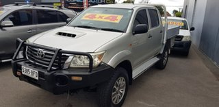 2012 Toyota Hilux KUN16R MY12 SR Silver 5 Speed Manual Dual Cab Pick-up