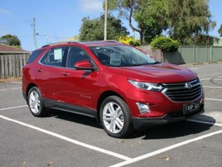 2018 Holden Equinox LTZ AWD Glory Red Automatic Wagon.
