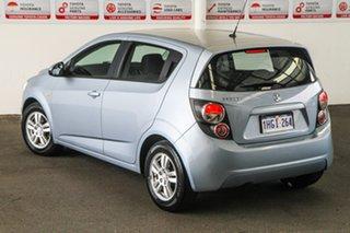 2012 Holden Barina TM Blue 6 Speed Automatic Hatchback