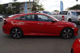 2017 Honda Civic 10th Gen MY17 RS Red 1 Speed Constant Variable Sedan.