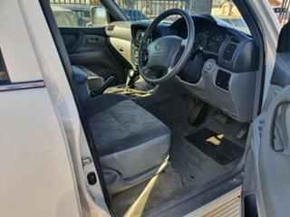 1998 Toyota Landcruiser FZJ105R GXL White 4 Speed Automatic Wagon