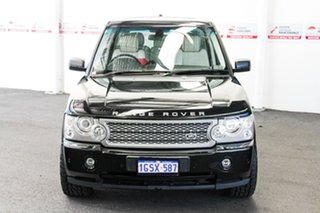 2008 Land Rover Range Rover MY08 Vogue TDV8 Black 6 Speed Auto Sequential Wagon.