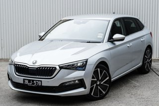 2020 Skoda Scala NW MY21 110TSI DSG Launch Edition Silver 7 Speed Sports Automatic Dual Clutch.