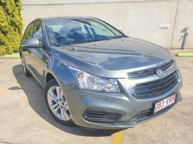 Used Holden Cruze JH Series II MY15 Equipe Toowoomba, 2015 Holden Cruze JH Series II MY15 Equipe Grey 6 Speed Sports Automatic Hatchback