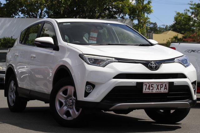 Used Toyota RAV4 ZSA42R GX 2WD Mount Gravatt, 2017 Toyota RAV4 ZSA42R GX 2WD White 7 Speed Constant Variable Wagon