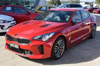 2019 Kia Stinger CK MY19 330S Fastback Hichroma Red/black 8 Speed Sports Automatic Sedan.