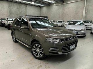2011 Ford Territory SZ Titanium Seq Sport Shift AWD Brown 6 Speed Sports Automatic Wagon.