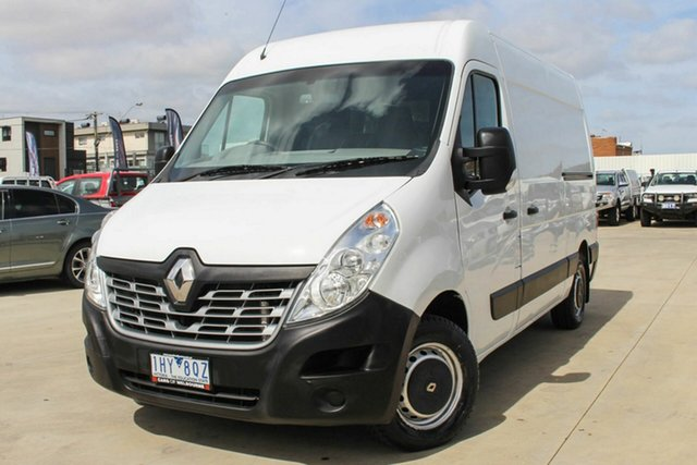 Used Renault Master X62 Mid Roof MWB AMT Coburg North, 2016 Renault Master X62 Mid Roof MWB AMT White 6 Speed Sports Automatic Single Clutch Van