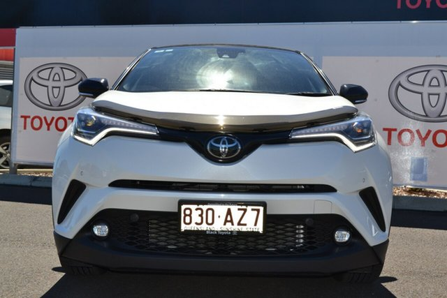 Pre-Owned Toyota C-HR NGX10R Koba S-CVT 2WD Warwick, 2019 Toyota C-HR NGX10R Koba S-CVT 2WD Crystal Pearl & Black Roof 7 Speed Constant Variable Wagon