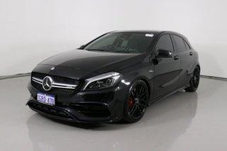 2017 Mercedes-AMG A 45 176 MY17 4Matic Black 7 Speed Auto Dual Clutch Hatchback.