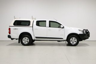 2013 Holden Colorado RG LX (4x4) White 6 Speed Automatic Crew Cab Pickup