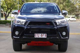 2017 Toyota Hilux GUN126R SR5 Double Cab Black 6 Speed Sports Automatic Utility.