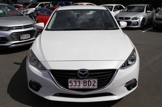 2015 Mazda 3 BM5478 Touring SKYACTIV-Drive White 6 Speed Sports Automatic Hatchback.