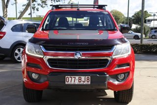 2017 Holden Colorado RG MY18 Z71 Pickup Crew Cab Red 6 Speed Sports Automatic Utility.