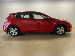 2012 Mazda 3 BL 11 Upgrade Neo Red 6 Speed Manual Hatchback.