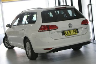 2016 Volkswagen Golf AU MY17 92 TSI Trendline White 7 Speed Auto Direct Shift Wagon.