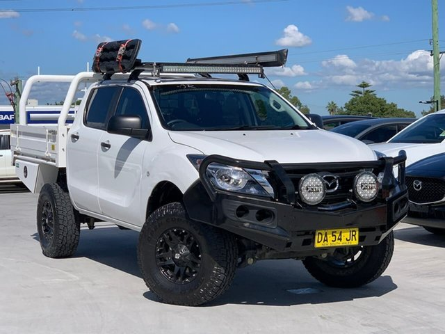 Used Mazda BT-50 UR0YG1 XT Liverpool, 2019 Mazda BT-50 UR0YG1 XT White 6 Speed Sports Automatic Utility