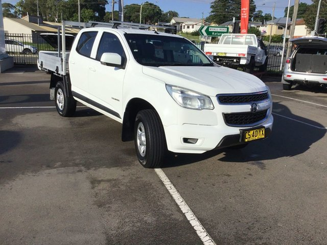 Used Holden Colorado RG MY16 LS Crew Cab 4x2 Cardiff, 2015 Holden Colorado RG MY16 LS Crew Cab 4x2 White 6 Speed Sports Automatic Utility