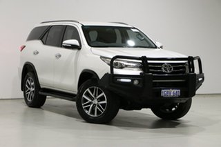 2016 Toyota Fortuner GUN156R Crusade White 6 Speed Automatic Wagon.
