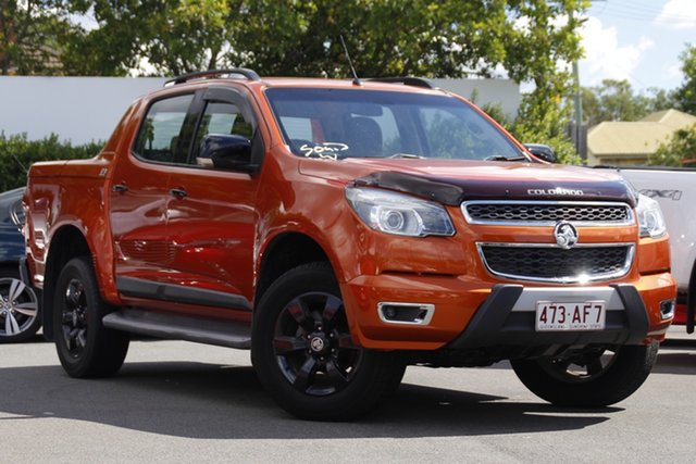 Used Holden Colorado RG MY16 Z71 Crew Cab Mount Gravatt, 2015 Holden Colorado RG MY16 Z71 Crew Cab Orange 6 Speed Sports Automatic Utility