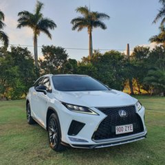 2019 Lexus RX GGL25R RX350 F Sport White 8 Speed Sports Automatic Wagon.