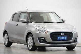 2019 Suzuki Swift AZ GL Navigator Silver 1 Speed Constant Variable Hatchback