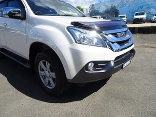 2016 Isuzu MU-X MY15.5 LS-T Rev-Tronic 4x2 Splash White 5 Speed Sports Automatic Wagon