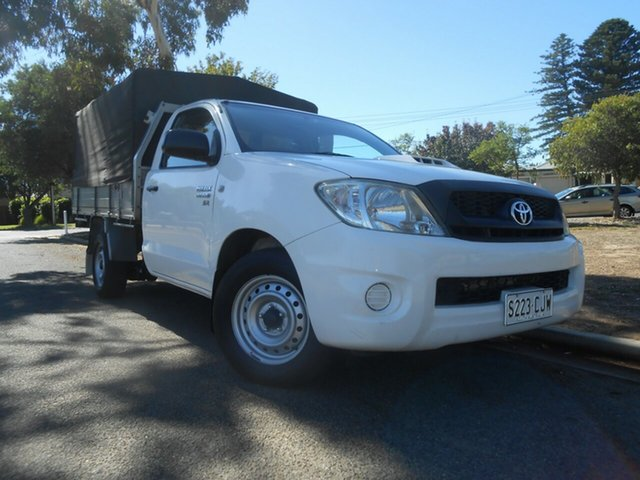 Used Toyota Hilux KUN16R MY10 SR 4x2 Broadview, 2010 Toyota Hilux KUN16R MY10 SR 4x2 5 Speed Manual Cab Chassis