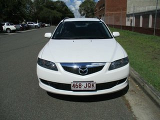 2010 Mazda 6 GH1052 MY10 Classic White 5 Speed Sports Automatic Wagon.
