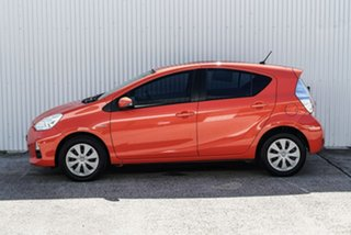 2012 Toyota Prius c NHP10R E-CVT Orange 1 Speed Constant Variable Hatchback Hybrid
