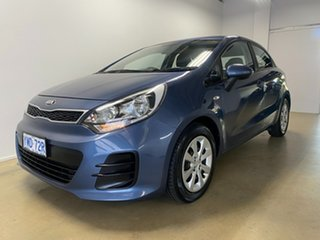 2015 Kia Rio UB MY16 S Blue 4 Speed Automatic Hatchback