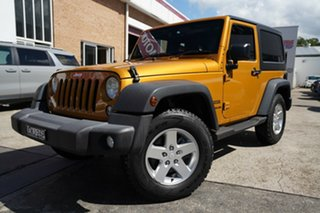 2014 Jeep Wrangler JK MY2015 Sport Orange 6 Speed Manual Softtop.